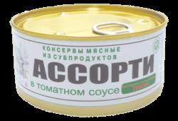 Консервы 'Ассорти в томатном соусе'