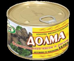 Консервы 'Долма, фаршированная мясом и рисом'