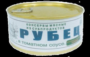 Консервы 'Рубец в томатном соусе'