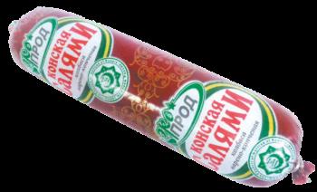 Варёно-копченые колбасы 'Конская Салями'